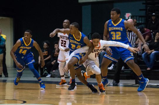 Jaden Baker talks about the big win over Easton during the Bayside Championship.