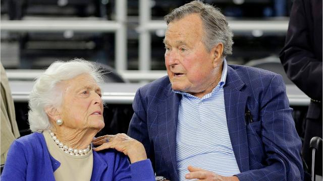 Former first lady Barbara Bush died Tuesday night at age 92.