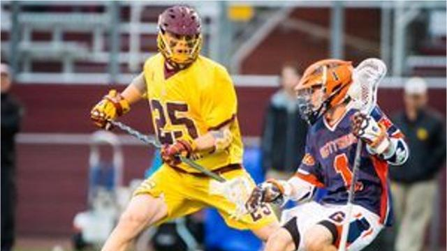 Salisbury University senior Kyle Tucker was drafted by the Chesapeake Bayhawks during the Major League Lacrosse draft.
