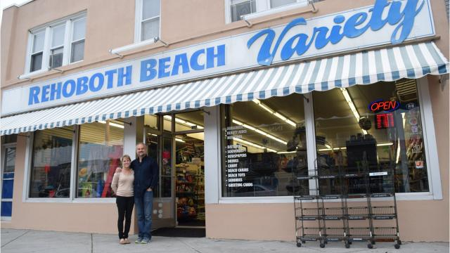 RB Convenience, what was Rehoboth Beach Variety for the last 12 years, but is now under new ownership.
