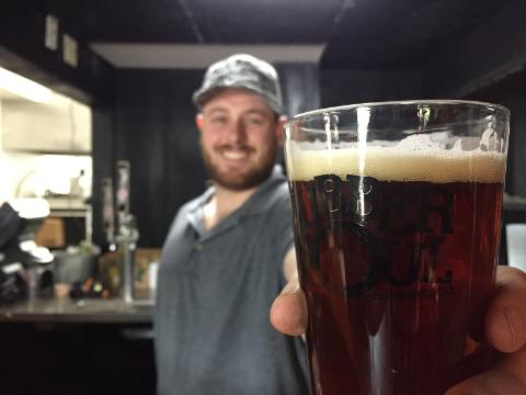 Roadie Joe's is hosting a taproom for Rubber Soul Brewery.