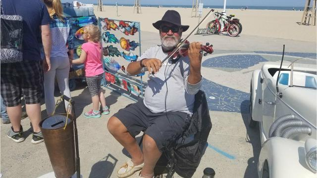 Ocean City Boardwalk performers expressed a feeling of relief this weekend after a recent court decision removed some restrictions on the famed wooden planks.