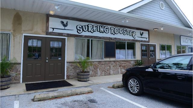 Surfing Rooster is a new eatery on the West Ocean City scene.