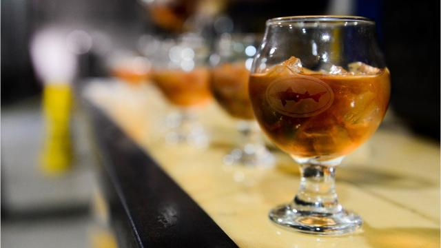 The Grain to Glass tours are a new popular attraction at the Dogfish Head brewery.