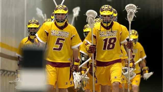 The Salisbury University men's lacrosse team will have a surprise dose of support going into Sunday's national title match.