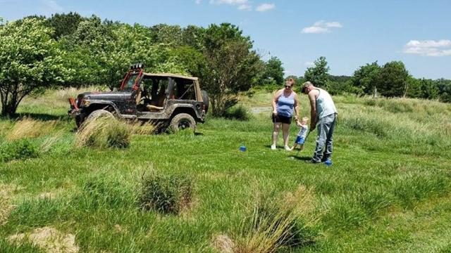 The Deer Run Jeep Golf course is a new golfing experience that substitutes jeeps for golf carts, appealing to a new era of golfers.
