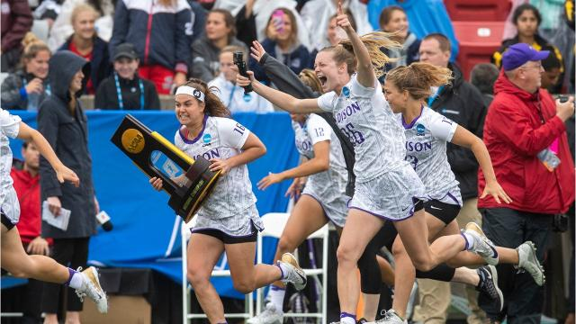 Former Stephen Decatur athlete Lexie Van Kirk won a Division I national championship with the JMU women's lacrosse team on May 27.