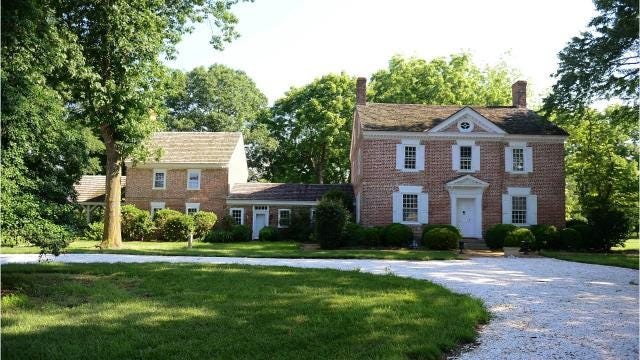 """It was once home to an early governor of Maryland and his daughter, who is celebrated today as a leader in the early years of what would become the women's movement, whose accomplishments includeas an unofficial """"shadow"""" adviser to several presidents, including Abraham Lincoln."""