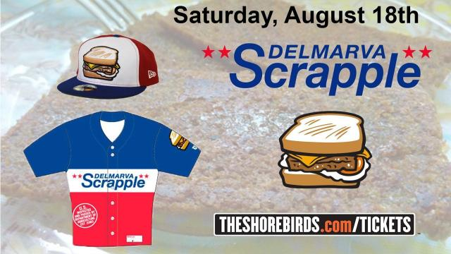 Scrapple uniforms, hats and, of course, sandwiches will be available.