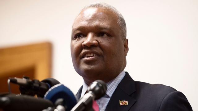 Rushern Baker and Ben Jealous are topping the polls in Maryland's Democratic governor race.