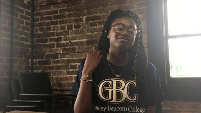 Mardela's Kayla Cook, who dominated at soccer, basketball and track, signed her national letter of intent to run track at Goldey-Beacom College.