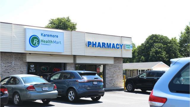 Monday afternoon two armed men walked into Karemore, pointed a gun at the cashier and asked for narcotics. It didn't end well for the armed men.