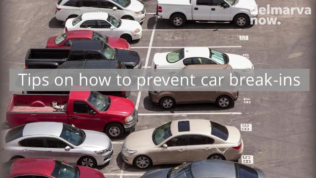While there's no way to 100 percent deter car break-ins, there are some steps that you can take to make your vehicle a much less appealing target.