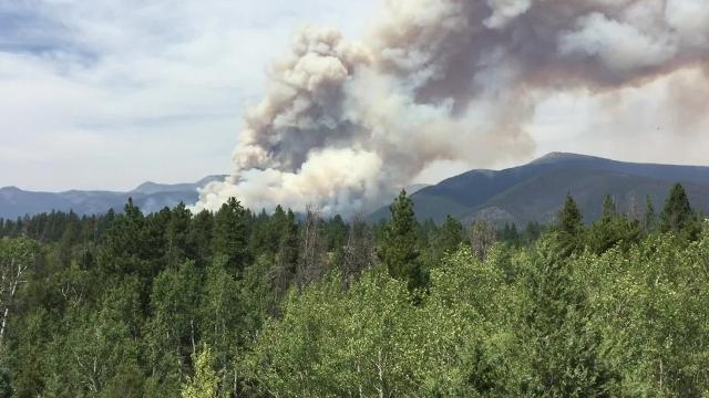 Montana Fire Map 2016.Wildfires Scorch Montana In The Third Worst Fire Season For The Region