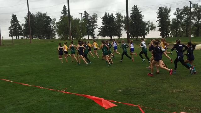 Cross country teams compete Friday at Anaconda Hills Golf Course