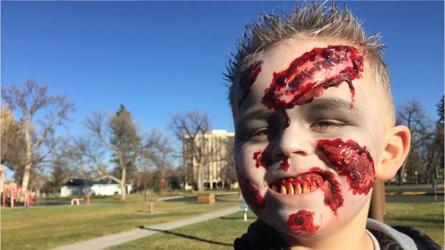 Zombies take over downtown Great Falls