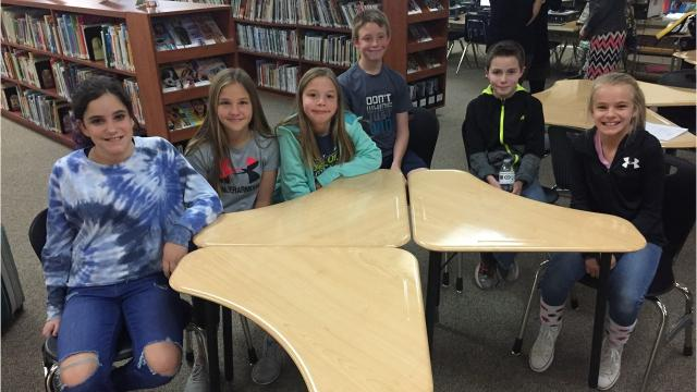 Five teachers earn a nearly $15,000 grant to upgrade the library and media center at Mountain View Elementary School.