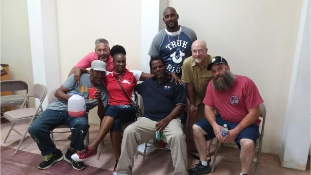From Oct. 10 to Nov. 8, four local men provided hurricane relief in the U.S. Virgin Islands.