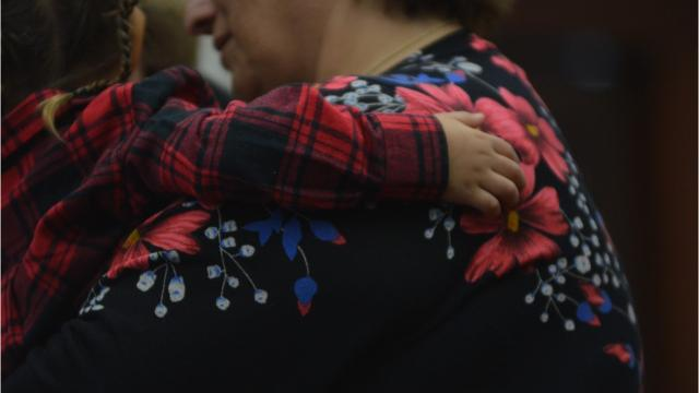 Seventeen children's adoptions were made official Monday at the Cascade County courthouse with a ceremony.