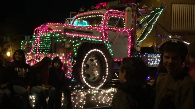 Glowing floats light up Central Avenue for the 23rd annual Parade of Lights