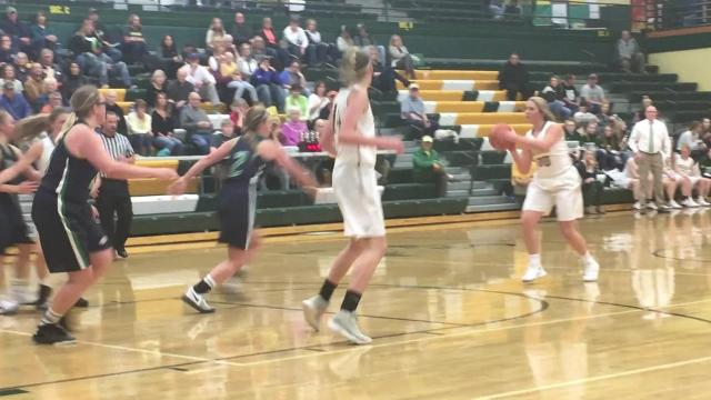 Highlights from CMR girls' loss to Glacier