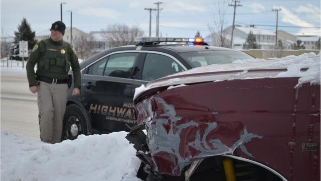 Fatal crashes on Montana roadways in 2017