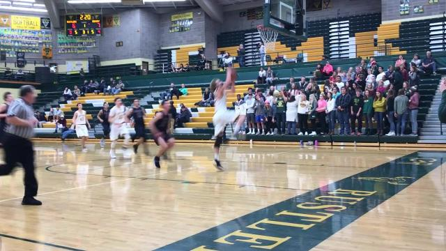 The Rustlers led wire-to-wire en route to a nonconference victory at CMR Fieldhouse
