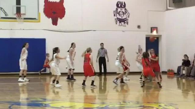 Highlights from nonconference boys' and girls' basketball games between Centerville and Foothills Christian of Great Falls at the MSDB gym.