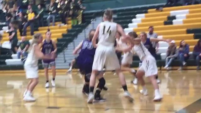 C.M. Russell defeated Butte High in the Eastern AA opener for both girls' basketball teams at C.M. Russell Fieldhouse Saturday afternoon.