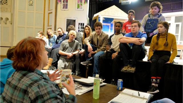 """Great Falls High School's staging of """"To Kill a Mockingbird"""" gave students a chance to talk about racism and injustice."""