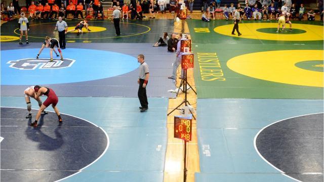 Alan LaRocque of Great Falls High is among several Electric City wrestlers enjoying fine seasons