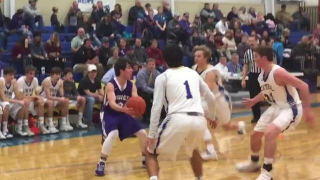 Great Falls Central's boys downed Power 69-65 in overtime Friday night behind a game-high 31 points from Noah Ambuehl.