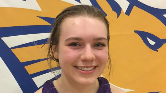 Jessie Maruska is a 5-foot-1 point guard for the Power High School girls' basketball team.