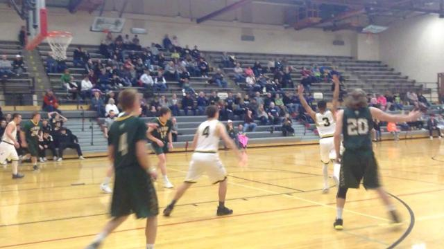 Sam Vining lead the Rustlers with 22 points, Garrison Rothwell and Jake Olsen added 16.