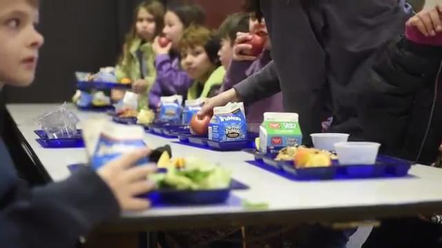 The Backpacks4Kids program provides food to students in need to help them get through the weekend.