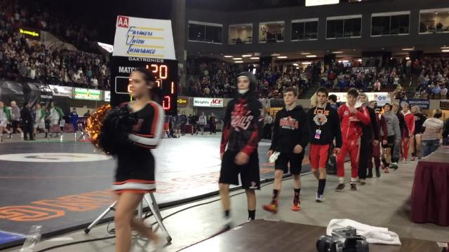 Video: All-Class State Wrestling finals