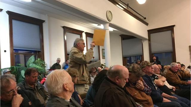 A meeting to take public input on a bill that would remove wilderness study act designations in five areas of Montana drew more than 130 people and strong views on both sides.