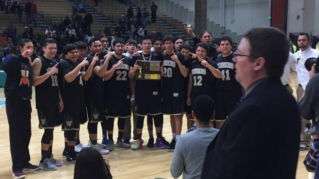 Sunburst and Heart Butte meet for the Northern C boys' crown