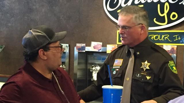 Sheriff Bob Edwards announced Saturday that he will seek a third term as Cascade County Sheriff.