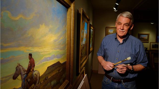Artist Steve Seltzer continues family tradition