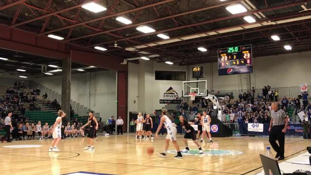 The Havre Blue Ponies won the State A girls' basketball championship