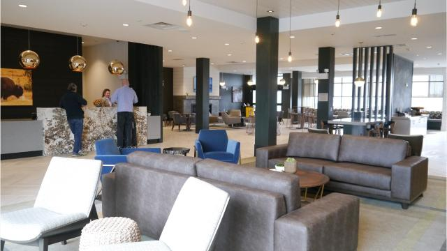 SpringHill Suites hotel opened April 12 in Great Falls' West Bank Landing.