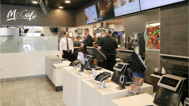 The 10th Avenue South McDonald's recently unveiled self-order kiosks, and General Manager Joey Himmelberg walks us through an order.