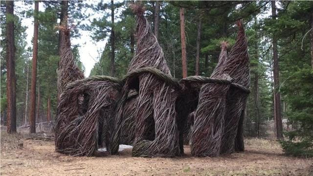 Lincoln's international sculpture parks is a lovely walk in the woods in rural Montana.