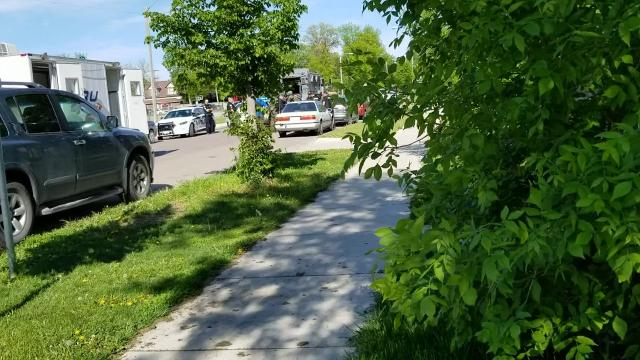 A man was arrested after a standoff that lasted about three hours Tuesday in Great Falls.