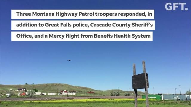 Multiple agencies responded to crash involving multiple motorcycles near the Frontier Inn Sunday afternoon.