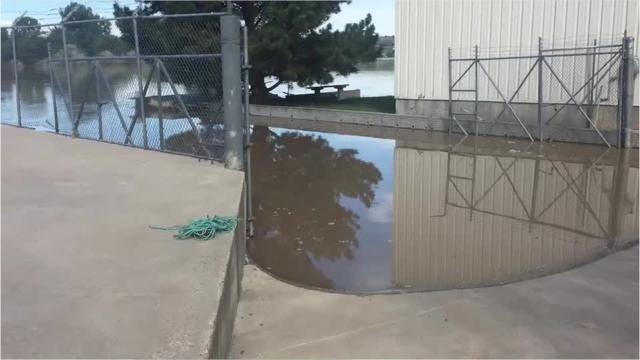 Raw video of the Missouri River at Missouri River Marine.