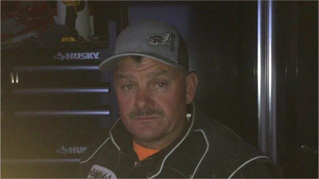 Tribune Sports Reporter Lee Vernoy talks with veteran Midwest Modified racer Marty Harvie about his family's rich history in stock car racing at the Electric City Speedway