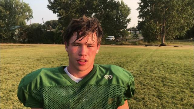 Video of interviews and practice drills from the Tri-City Titans' football practice of Aug. 15 in Hobson