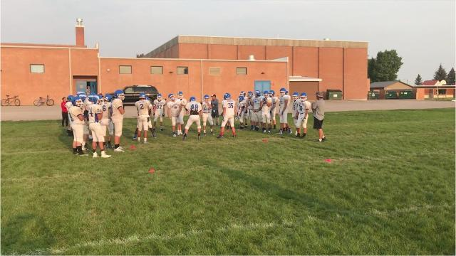 Highlights and interviews from the Fairfield Eagles' practice Aug. 16.
